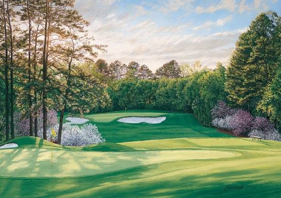 Turn on images to see another incredible image of Augusta National