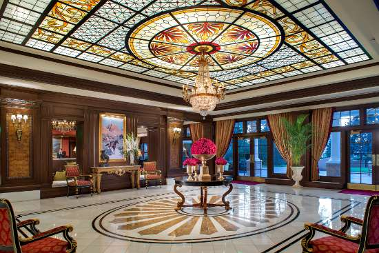 Enable images to see The Broadmoor's stunning West Lobby