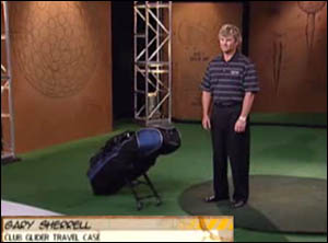 Turn on images to see the Clubglider's inventor on the Golf Channel