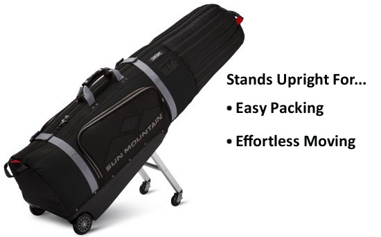 Turn on images to see why the ClubGlider is the best golf travel bag