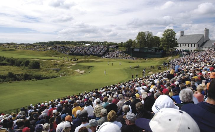 Crowd at Ryder Cup Final